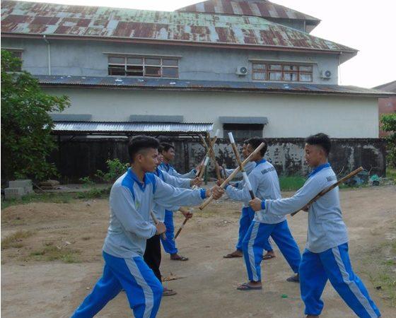 Latihan Beladiri Tongkat (Double Stick)