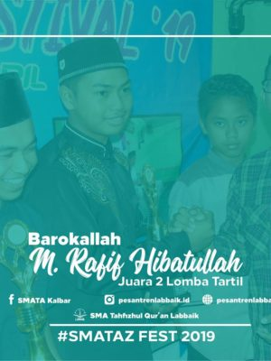 Juara 2 Tartil Qur'an